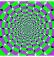 rotating circle vector image vector image