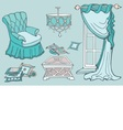 furniture first sofa mint vector image