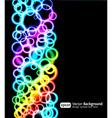 light rings vector image