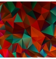 Abstract red and green EPS 10 vector image vector image