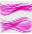 Abstract Wave on Transparent Background vector image vector image