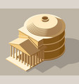 ancient isometric vector image