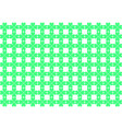 cell pattern made of green heart-shaped clovers vector image