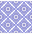 ceramic pattern islamic style vector image vector image