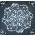 Chalkboard ornament vector image