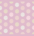 dots circle geometric seamless pattern background vector image vector image