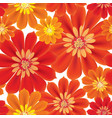 flowers seamless background floral seamless vector image vector image
