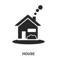house icon line style icon design ui vector image vector image