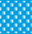 notepad pencil pattern seamless blue vector image vector image