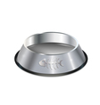 chrome pet dish vector image
