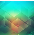 abstract geometric style design vector image vector image