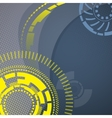 Abstract technology mechanical background vector image