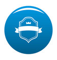 badge best quality icon blue vector image vector image