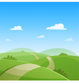 Country Road vector image vector image
