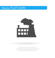 factory icon for web business finance and vector image vector image