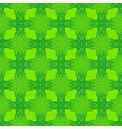 spring green psychedelic sixties pattern vector image vector image