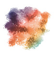 colourful watercolour texture background vector image vector image