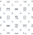 fuel icons pattern seamless white background vector image vector image
