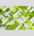green abstract geometric corporate concept vector image vector image