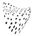 Heart Grunge Texture vector image vector image