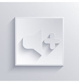 Light square icon Eps 10