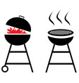 outdoor grill vector image