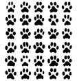 print cats paws vector image vector image