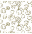 seamless pattern in vector image vector image