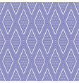 seamless thai pattern blue and white modern shape vector image vector image