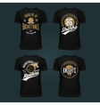 set t-shirt basketball print or cloth design vector image