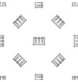 test tube stand pattern seamless vector image vector image