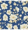 Design of vintage floral pattern vector image