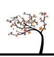Abstract Cute Tree vector image vector image
