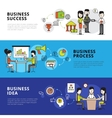 Business People Banners vector image vector image