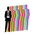 businessman design vector image vector image