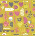 scandinavian kids abstract pattern vector image vector image