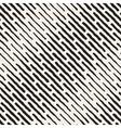 Seamless Hand Drawn Daigonal Dash Lines vector image vector image