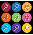 Search icon series in Metro style vector image
