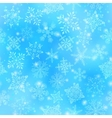Snowflakes Seamless Wallpaper vector image