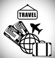 Travel design vector image vector image