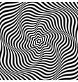 Wavy rotation vector image vector image