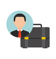 businessman icon design vector image vector image