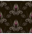 Seamless pattern art deco graphic ornament vector image vector image