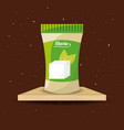 stevia natural sweetener packet product vector image vector image