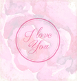 Valentines day vintage greeting card elements
