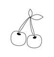 casino symbol design vector image
