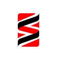 3d effect initial ss letter s logo design swirl