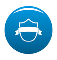 badge modern icon blue vector image vector image