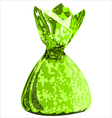 candy in a wrapper vector image vector image