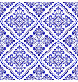 decorative tile background vector image vector image